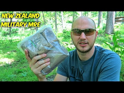 Testing New Zealand Military MRE (24Hr Combat Food Ration)
