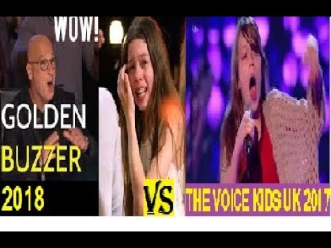 Two Auditions of 'Courtney Hadwin' in America's Got Talent 2018 (Golden Buzzer) & The Voice Kids UK