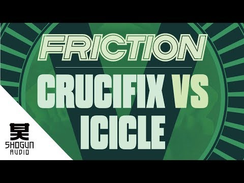 Friction Vs. Icicle - Crucifix