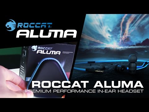 ROCCAT Aluma | Premium Performance In-Ear Headset