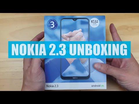 NOKIA 2.3 UNBOXING