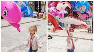 Maya Kendine 2 Tane Uçan Balon Aldı - Niloya Pepee Elsa  Harika Kanatlar