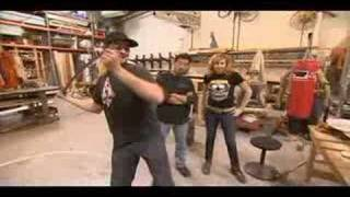 Mythbusters - Stopping a Blade