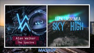 Alan Walker - The Spectre / Elektronomia - Sky High (MASHUP)