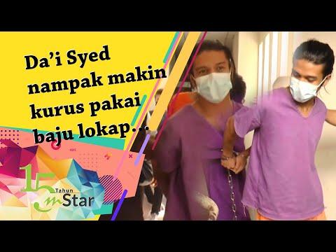 Da'i Syed nampak makin kurus pakai baju lokap… tapi sempat beritahu dia sihat dan okay