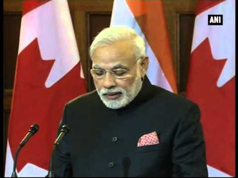 India to procure uranium from Canada for civil nuclear power plants:  Modi
