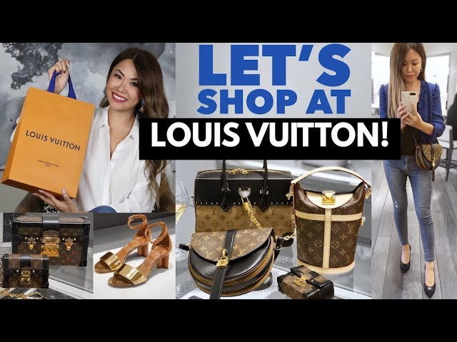 SHOP WITH ME AT LOUIS VUITTON! ???? SHOPPING VLOG + LV UNBOXING!