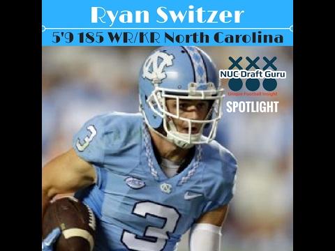 "NFL Draft 2017 Prospect Spotlight- Ryan Switzer   WR/KR   North Carolina 5'9 185   ""Speed Merchant"""