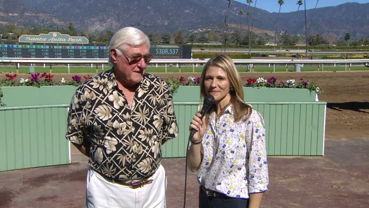Former Nfl Quarterback Billy Kilmer At Santa Anita Park