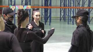Алуа Қонарова шу туғызатын ән дайындауда