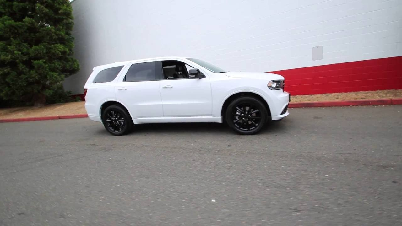 2017 Dodge Durango R T White Knuckle Clear Coat Hc615333 Redmond Seattle