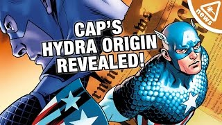 Captain America's Hydra Origin Revealed! (Nerdist News w/ Jessica Chobot)