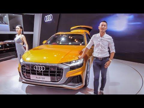 VMS 2018 - Soi chi tiết Audi Q8 chính thức có mặt tại Việt Nam. Giá thơm nhiều trang bị Option