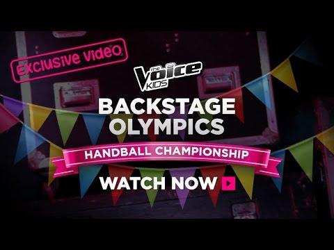 Backstage Olympics: Handball Championship   The Voice Kids Australia 2014