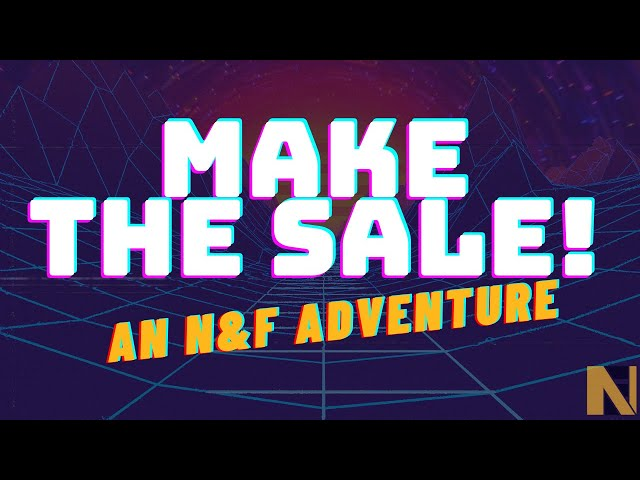 Make The Sale!  An Interactive Medicare Video Game