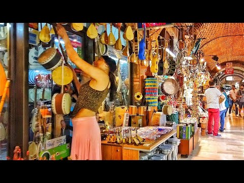 İZMİR KEMERALTI BAZAAR | Walking Tour Turkey 2019