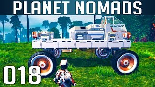 PLANET NOMADS [018] [Neues Auto - KFZ Simulator 2017] [S02] Let's Play Gameplay Deutsch German thumbnail