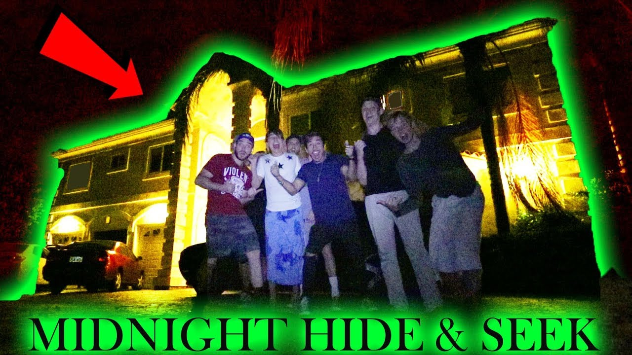 Download MIDNIGHT HIDE AND SEEK IN A MANSION   (locked in)   Sam Golbach