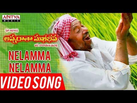 Nelamma Nelamma Video Song | Annadata Sukhibhava Songs | R.Narayana Murthy