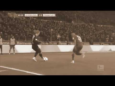 Julian Brandt skills and trickery leads to Chicharito goal - Bayer Leverkusen 3:0 Frankfurt