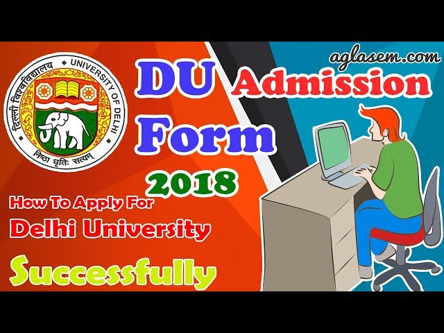 Application Form Du Pg 2017, How To Fill Du Application Form 2019, Application Form Du Pg 2017
