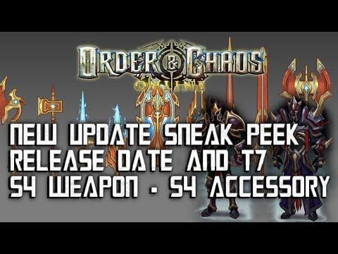 Order & Chaos Online - S4 WEAPON & T7 Gear - NEW UPDATE SNEAK PEEK