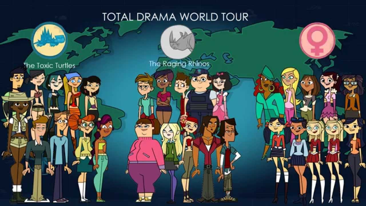 Total Drama World Tour Songs Top