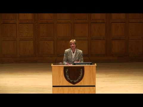"""Poverty and the World's Water Supply"" with Maude Barlow"
