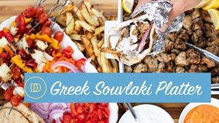 The Ultimate Chicken Souvlaki Board/Platter