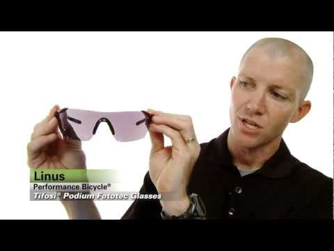 Tifosi Podium Fototec Sunglasses Review from Performance Bicycle
