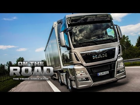 ON THE ROAD - Truck Simulator #1: Mit dem MAN TGX von Kiel nach Hannover!  | LKW-Simulator OTR