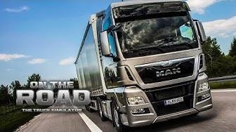 ON THE ROAD - Truck Simulator #1: Mit dem MAN TGX von Kiel nach Hannover!    LKW-Simulator OTR