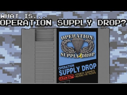 Operation Supply Drop's 8-Bit Salute To Veterans Is Back!