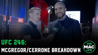 Ariel Helwani breaksdown Conor McGregor vs Donald Cerrone