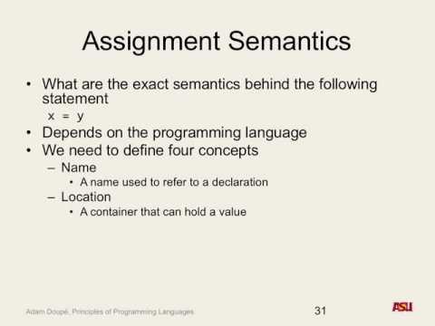 "CSE 340 F16: 10-3-16 ""Semantics Pt. 5"""