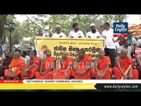 """Satyagraha"" Against communal violence 