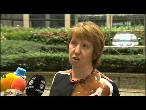 EU Foreign Ministers Meeting on Iraq & Ukraine -  Catherine ASHTON
