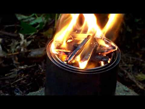 DIY 4-in-1 Backpacking Wood Burning Stove(s) - Wood Gas