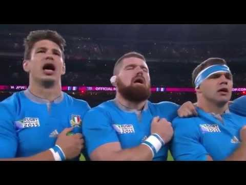 RWC 2015 Anthems - France vs Italy [Pool D]