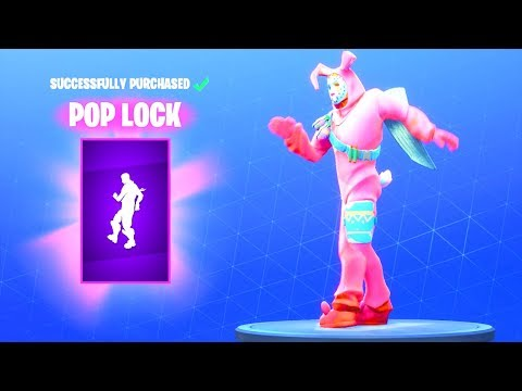 New Pop Lock Dance Emote Fortnite Battle Royale Youtube