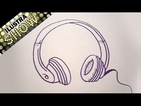 Dibujar Unos Audífonos Tutorial Ilustra Show Youtube