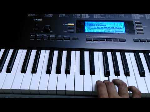 Rang he nave nave Instrumental on keyboard