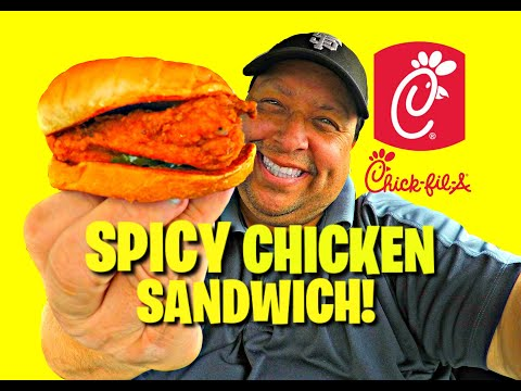 Chick-fil-A® Spicy Chicken Sandwich Review!