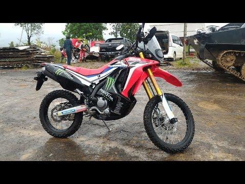 Main Lumpur Bersama Honda CRF250 Rally