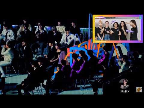 191116 Idols reaction to TWICE VCR Challenge VLIVE AWARDS