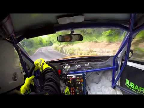BRUTAL Hillclimb Subaru WRX STi With Sequantial Gearbox In Action   Subi-Performance