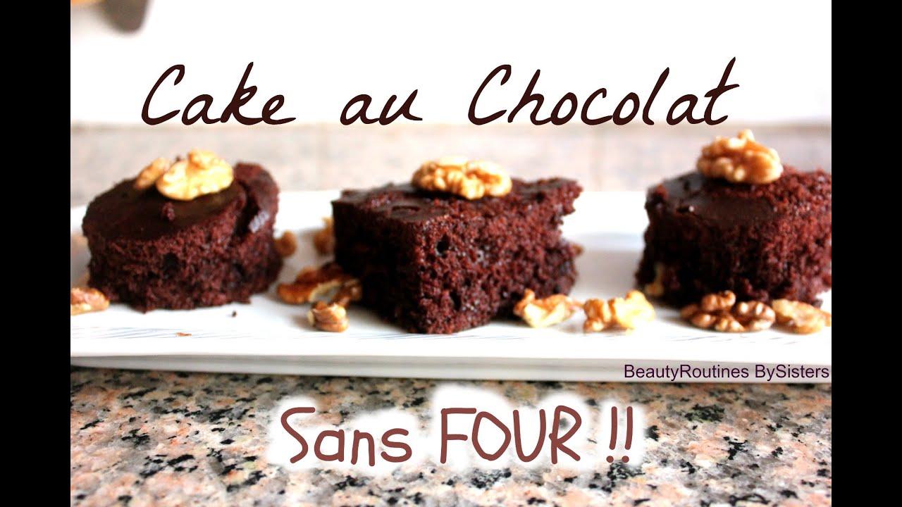 Gateau au chocolat sans utiliser le four