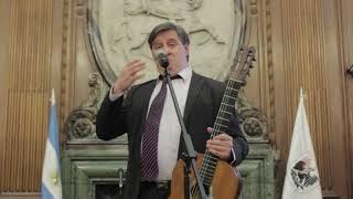 Pastore y guitarra de Gardel
