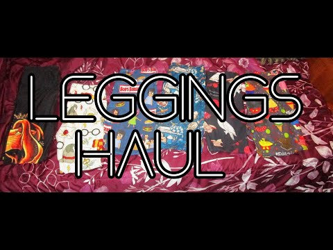Leggings Haul 11.8.19 Day 2326