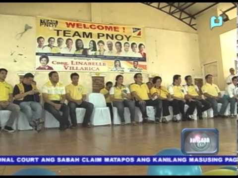 Liberal Party: Dominant majority, Nationalist Alliance: Dominant minority - COMELEC